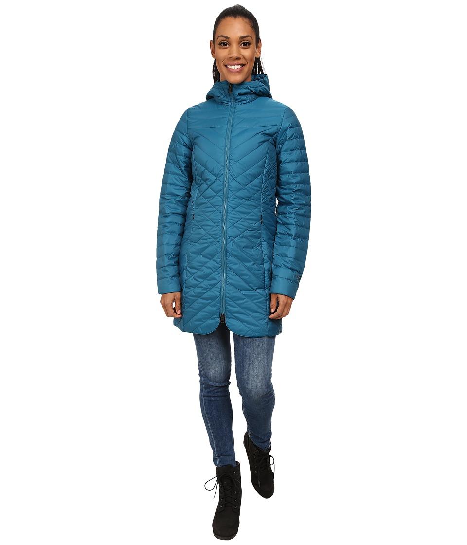 The North Face - Karokaro Parka (Juniper Teal) Women's Coat