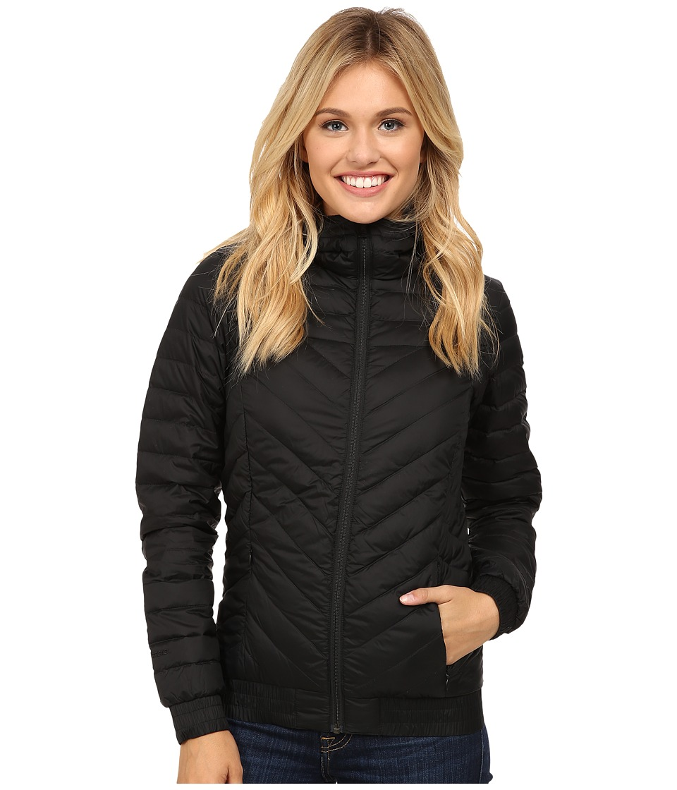 The North Face - Karokaro Hooded Bomber Jacket (TNF Black) Women's Coat