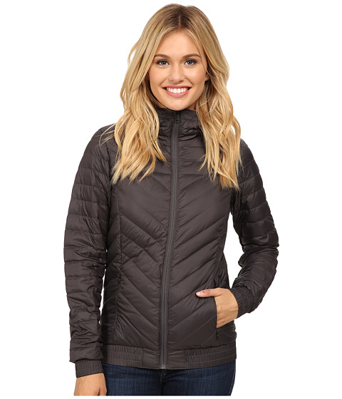 The North Face - Karokaro Hooded Bomber Jacket (Graphite Grey) Women's Coat