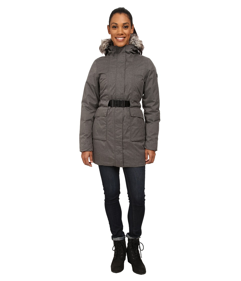The North Face - Dunagiri Parka (Graphite Grey Heather) Women's Coat
