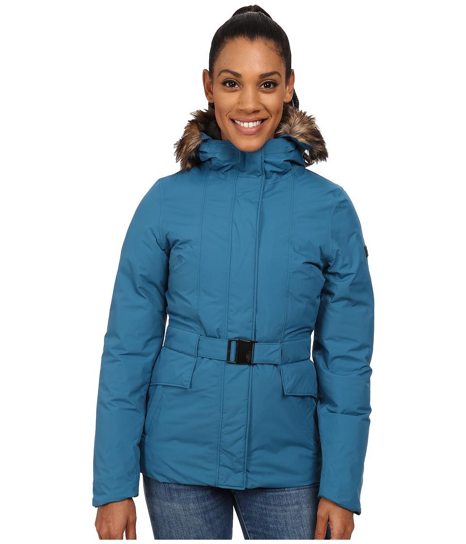 The North Face - Dunagiri Jacket (Juniper Teal) Women's Coat