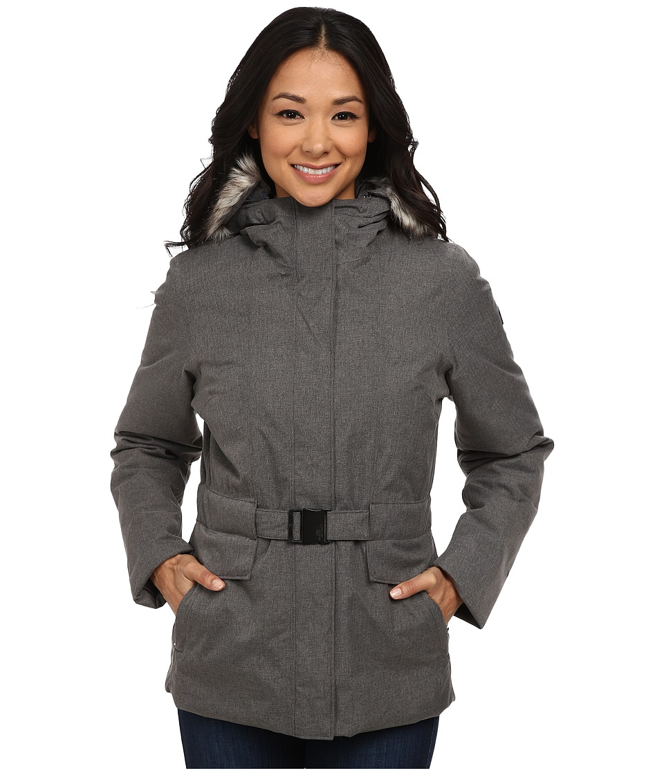 The North Face - Dunagiri Jacket (Graphite Grey Heather) Women's Coat