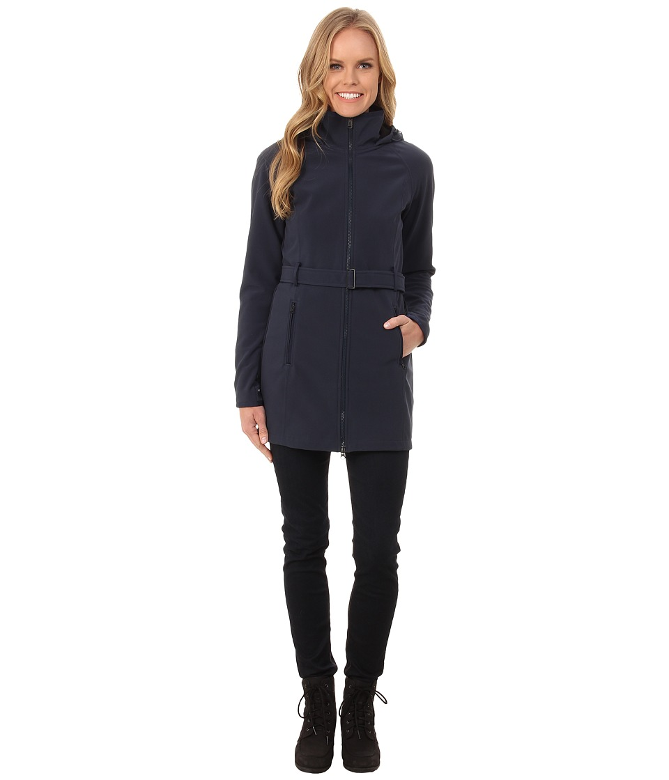 The North Face - Apex Bionic Trench Coat (Urban Navy) Women