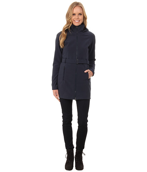 The North Face - Apex Bionic Trench Coat (Urban Navy) Women's Coat