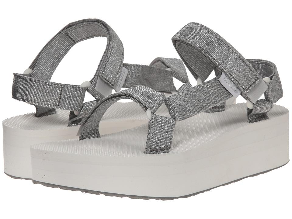 Teva - Flatform Universal (Silver) Women's Sandals