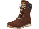 Hime Mid LTR CS WP (Dark Brown Leather/Black/Light Grey)