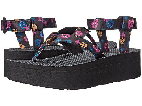Teva - Flatform Sandal Floral (Black) Women