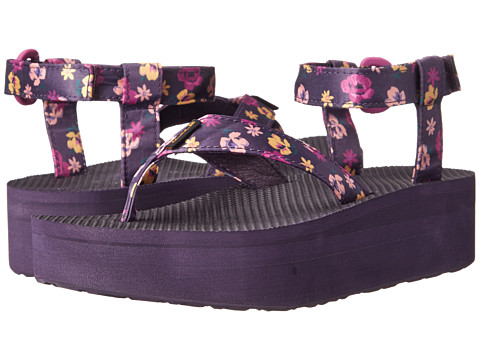 Teva - Flatform Sandal Floral (Purple Wine Floral) Women's Sandals