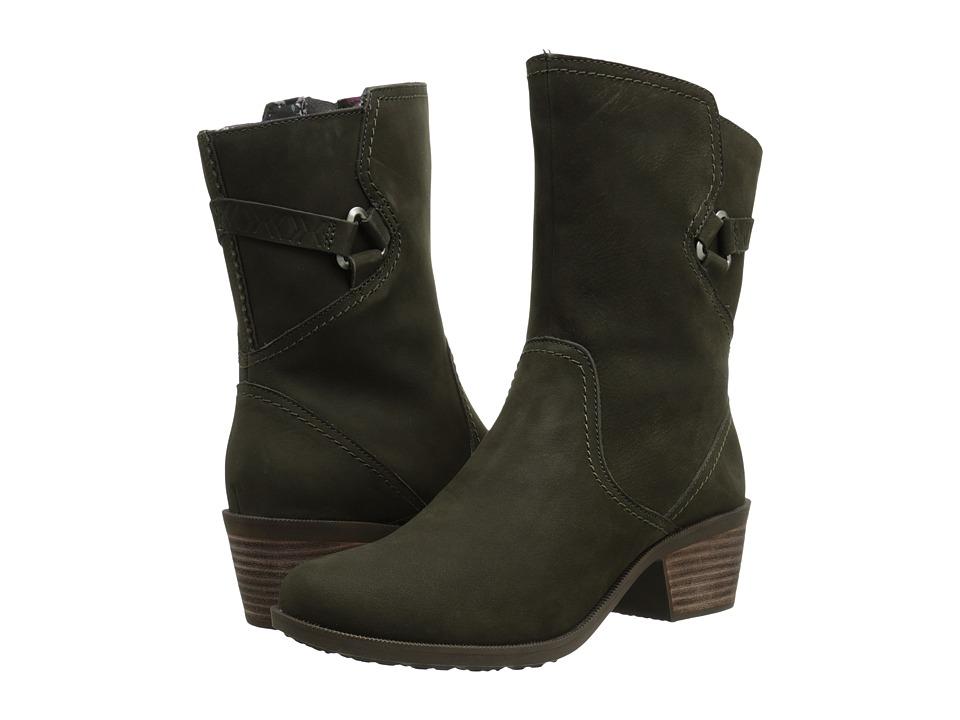 Teva - Foxy Mid (Black Olive) Women's Shoes