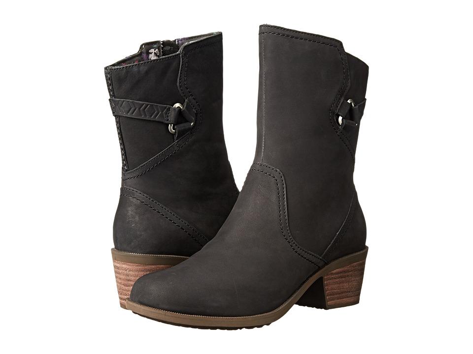 Teva - Foxy Mid (Black) Women's Shoes