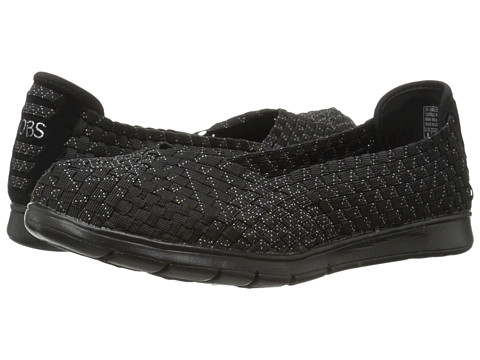 BOBS from SKECHERS - Pureflex - Fairy Dust (Black/Multi) Women's Flat Shoes