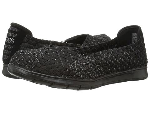 BOBS from SKECHERS - Pureflex - Fairy Dust (Black/Multi) Women's Flat Shoes