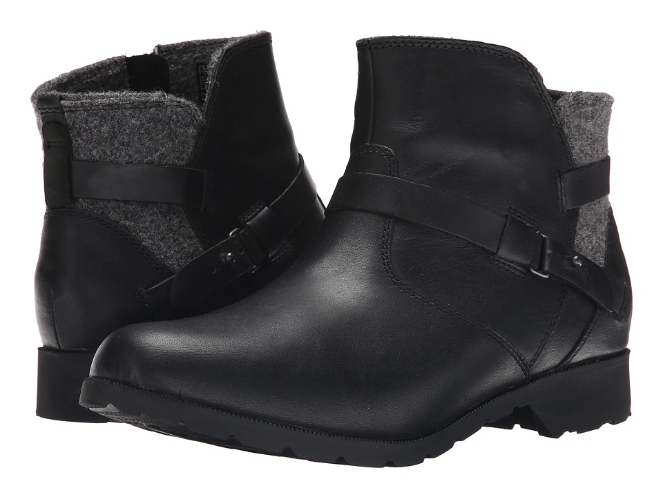 Teva Delavina Ankle Wool (Black) Women