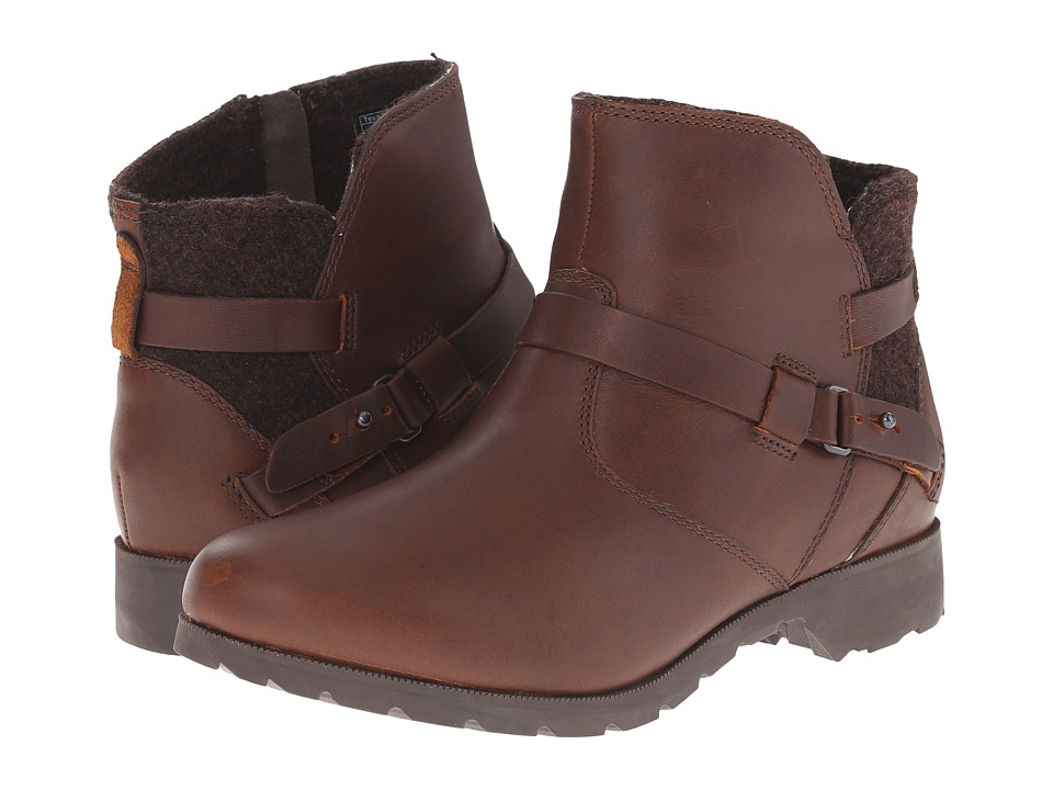 Teva Delavina Ankle Wool (Brown) Women