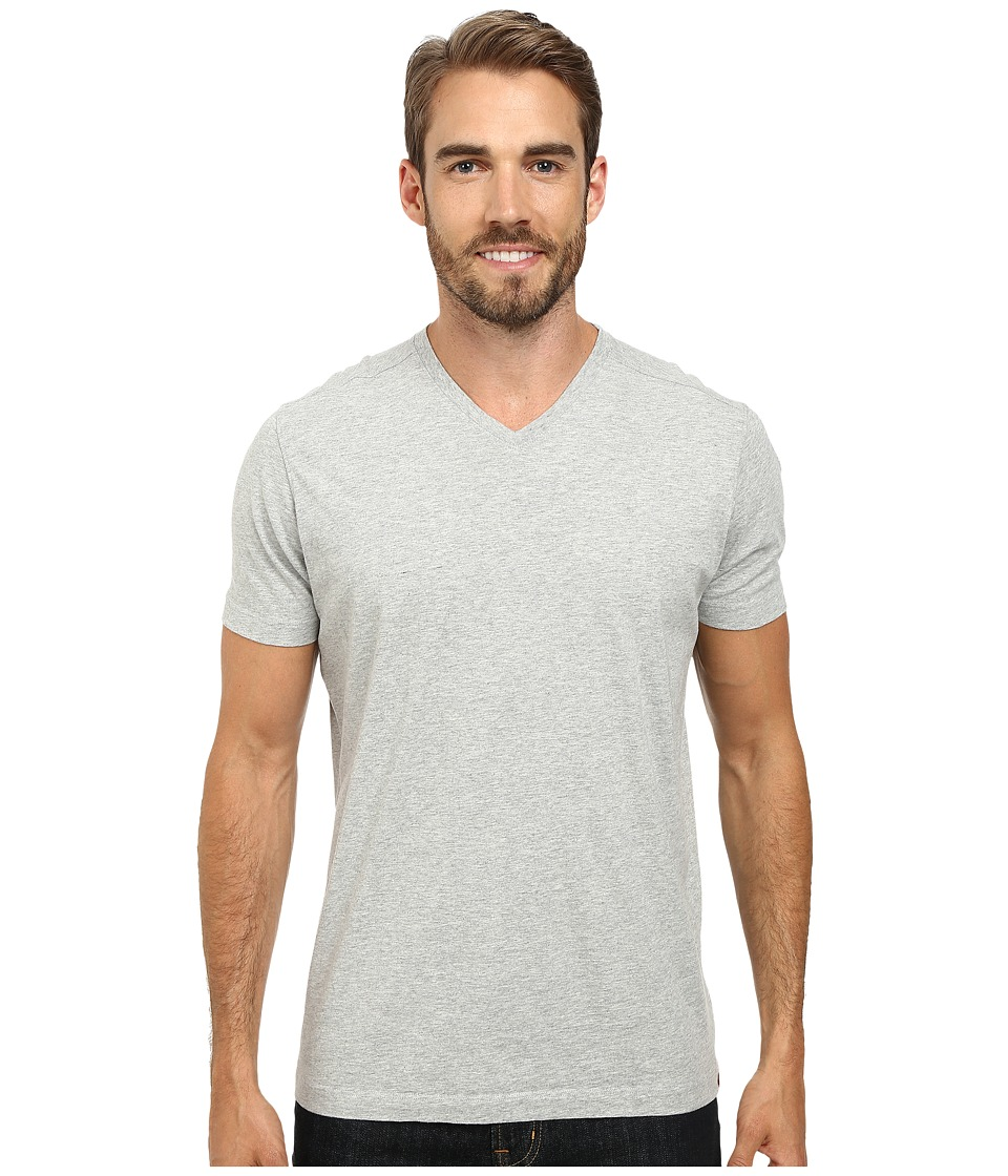 Agave Denim - Agave Hi-V Supima Tee (Heather Gray) Men's T Shirt