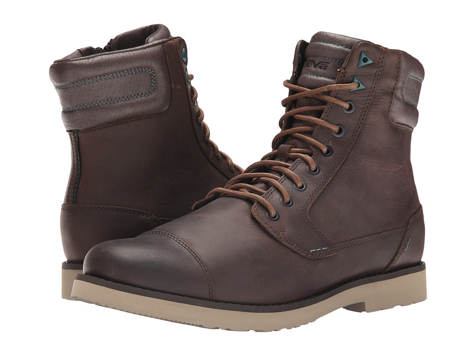 Teva Durban Tall Leather (Brown) Men