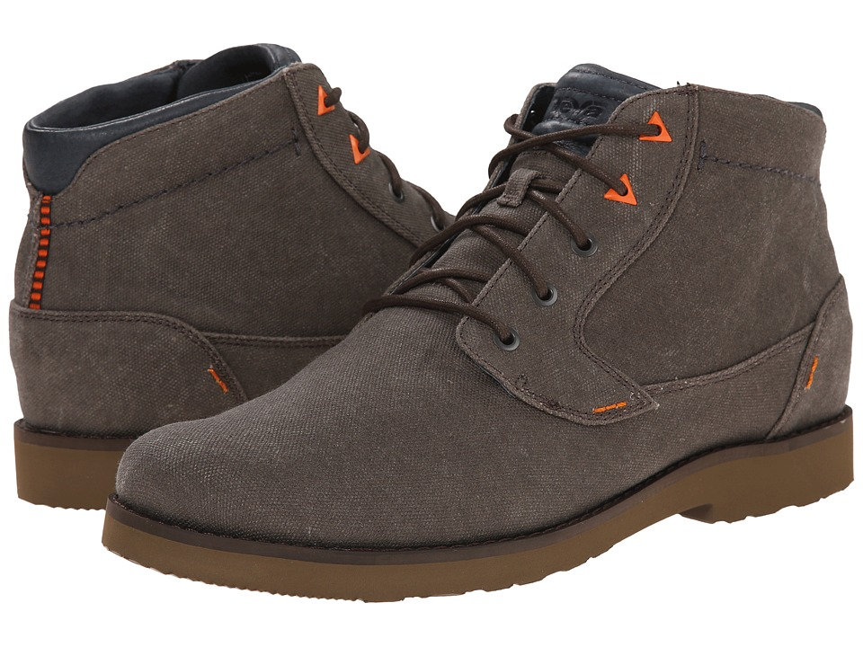 Teva Durban Waxed Canvas (Turkish Coffee) Men