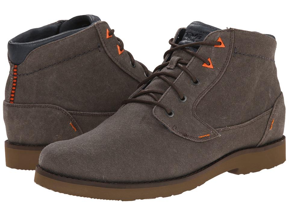 Teva - Durban Waxed Canvas (Turkish Coffee) Men's Shoes