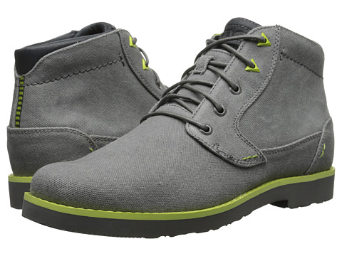 Teva - Durban Waxed Canvas (Charcoal) Men's Shoes