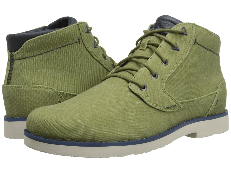 Teva - Durban Waxed Canvas (Avocado) Men's Shoes
