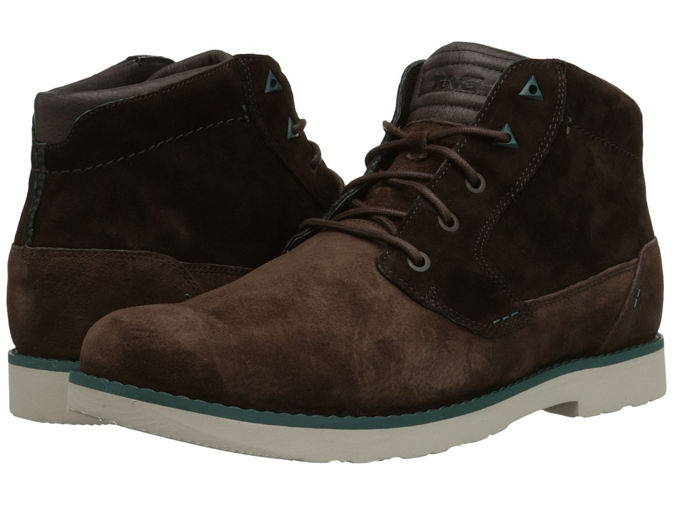Teva - Durban Suede (Chocolate Brown) Men's Shoes