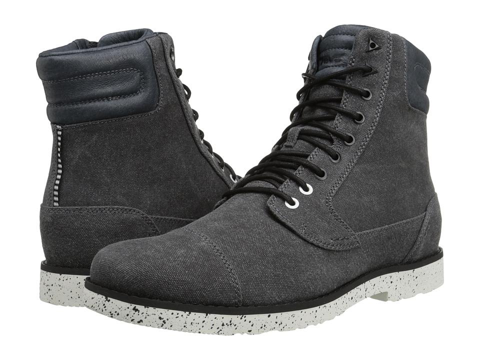 Teva - Durban Tall Waxed Canvas (Black) Men's Shoes