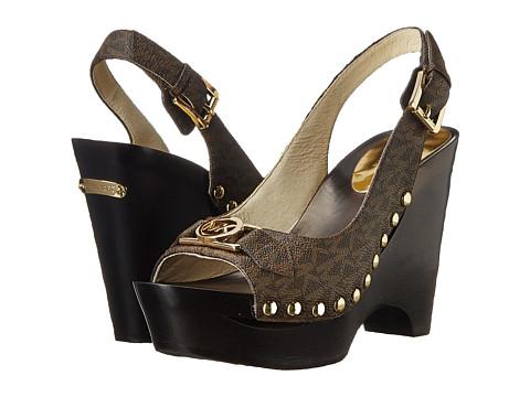 77b0e3bcaa6c michael kors charm slingback wedge sandals buy sandals canada ...