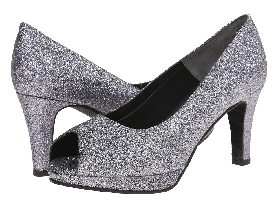 Rose Petals Prom (Pewter Sparkle Pu 1) Women