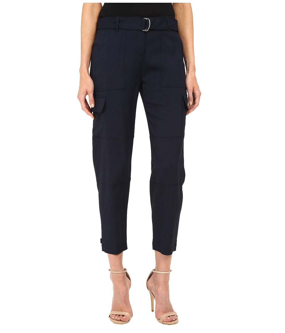 Theory - Hannon Pants (Navy) Women's Casual Pants