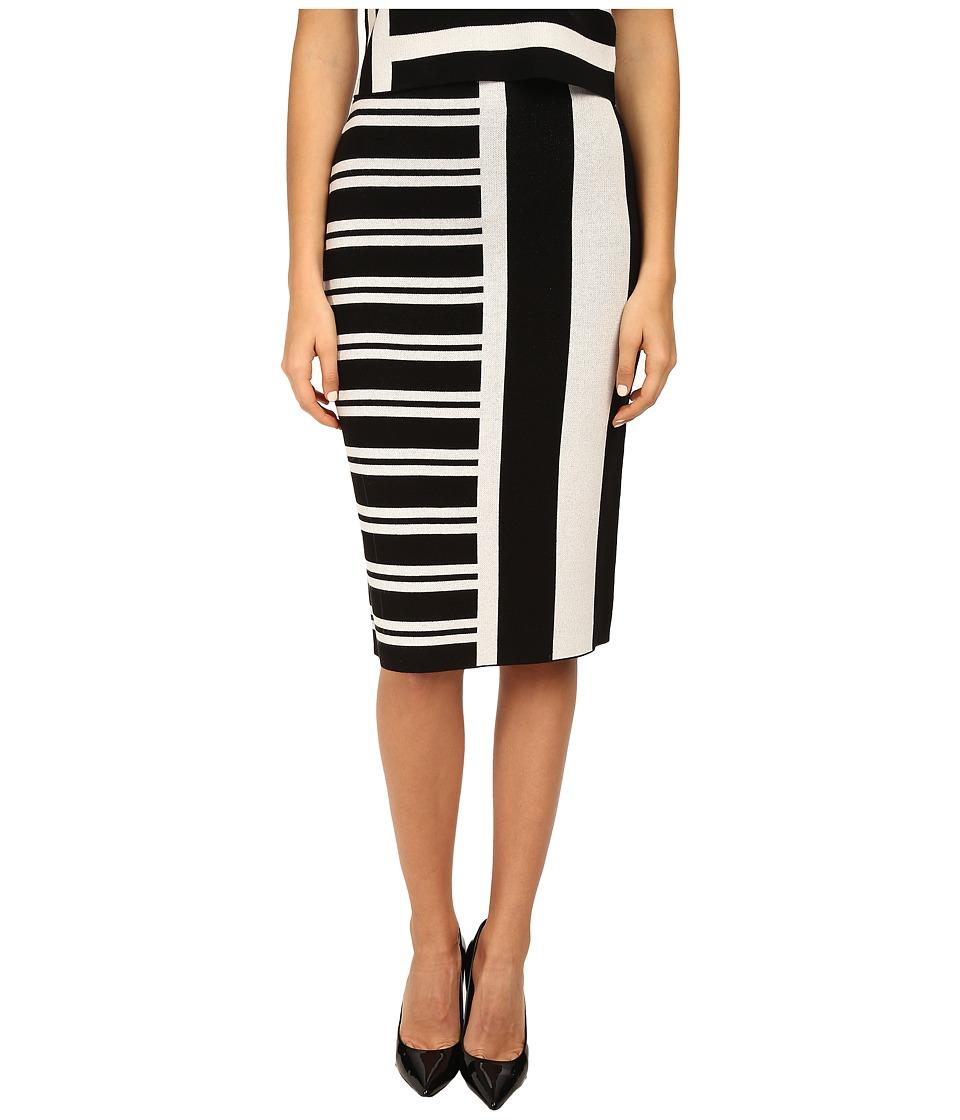 Theory - Efersten Skirt (Black/White) Women's Skirt