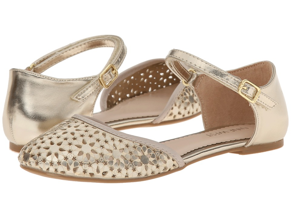 Nine West Kids - Faith (Little Kid/Big Kid) (Gold) Girl