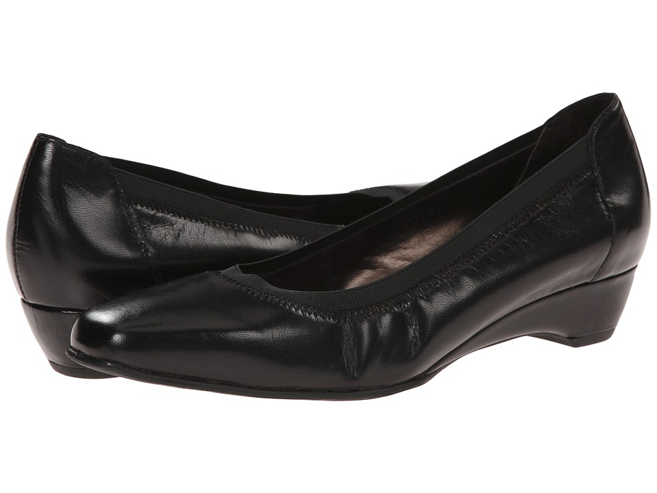 Rose Petals - Brandi (Black Kid) Women's Shoes