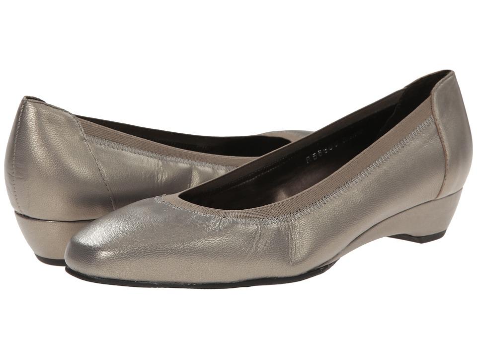 Rose Petals - Brandi (Pewter Kid) Women's Shoes