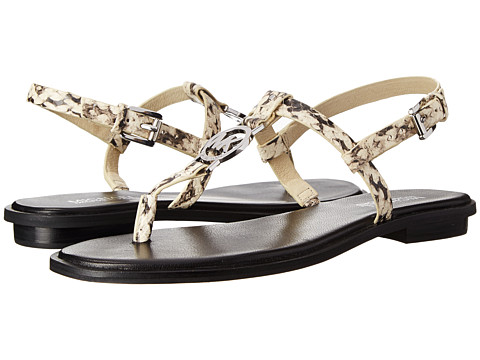 MICHAEL Michael Kors - Sondra Sandal (Natural Embossed Snake) Women's Sandals