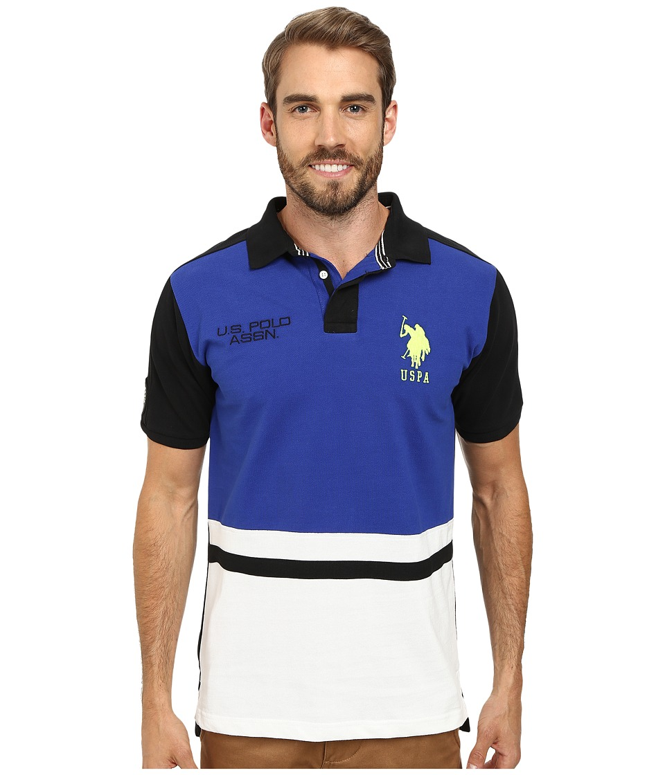 U.S. POLO ASSN. - Black Mallet Polo (International Blue) Men's Clothing
