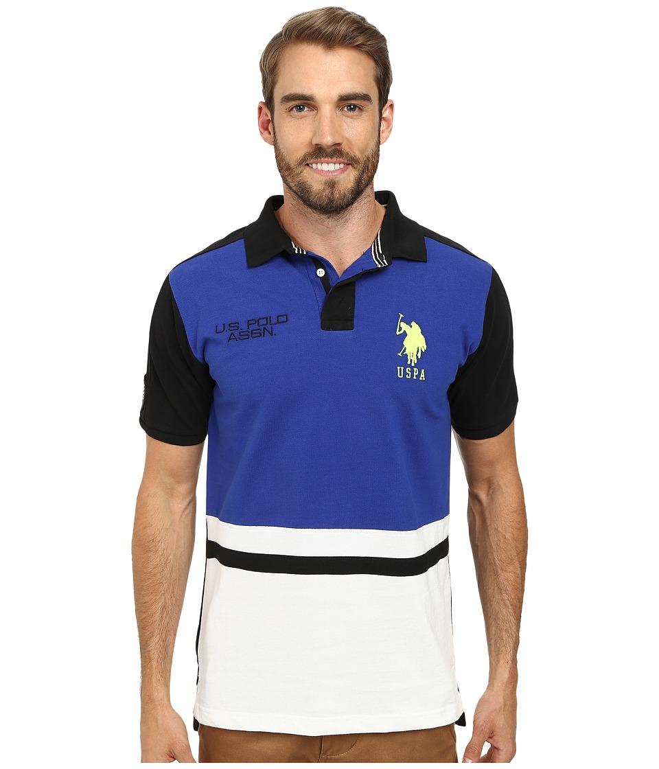 U.S. POLO ASSN. - Black Mallet Polo (International Blue) Men's Clothing