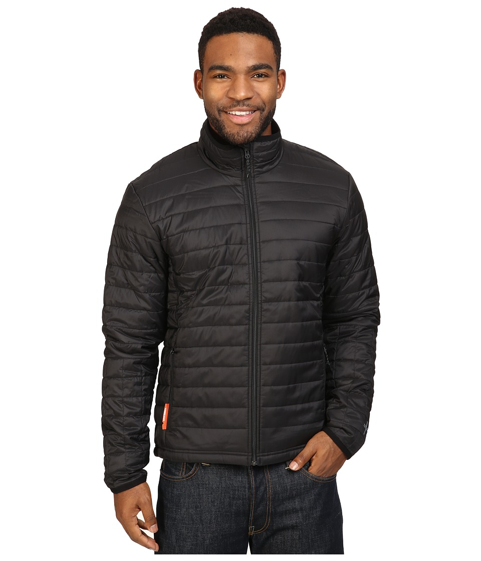 Icebreaker - Stratus Long Sleeve Zip (Black/Black/Black) Men's Coat