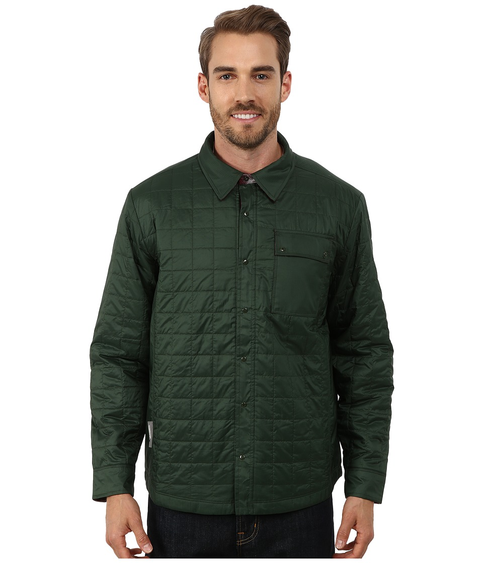 Icebreaker - Helix Long Sleeve Shirt (Conifer/Redwood/Awesome) Men's Clothing