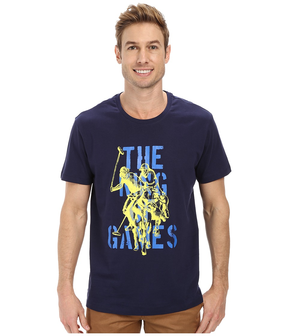 U.S. POLO ASSN. - The King Of Games T-Shirt (Classic Navy) Men's T Shirt