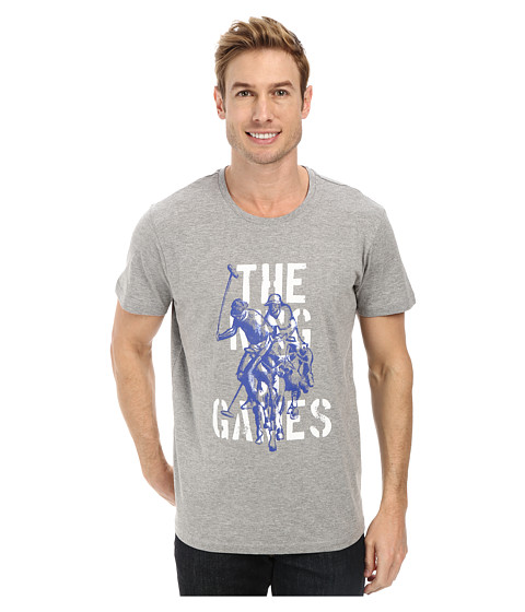 U.S. POLO ASSN. - The King Of Games T-Shirt (Heather Gray) Men's T Shirt