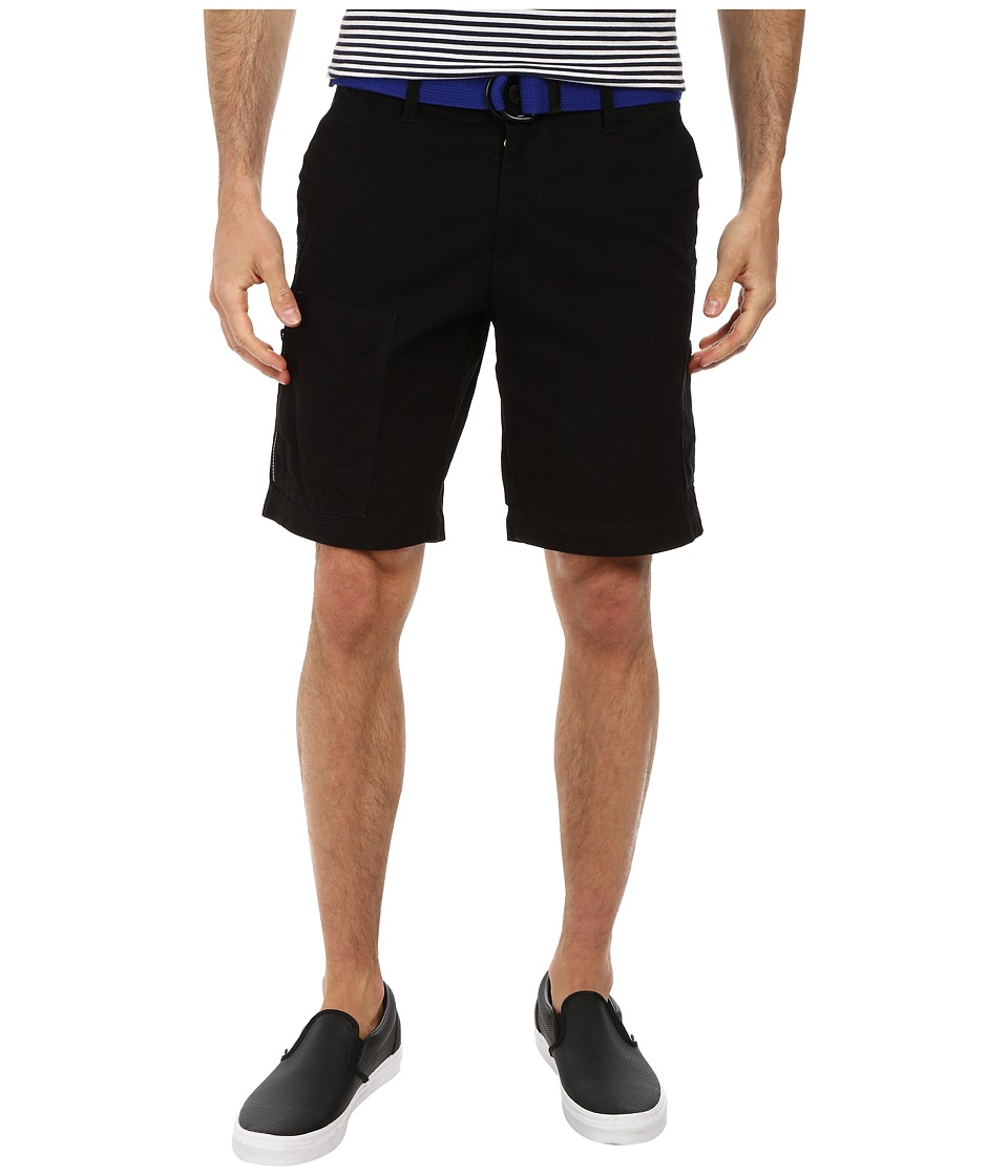 U.S. POLO ASSN. - Color Denim Cargo Shorts (Black) Men's Shorts