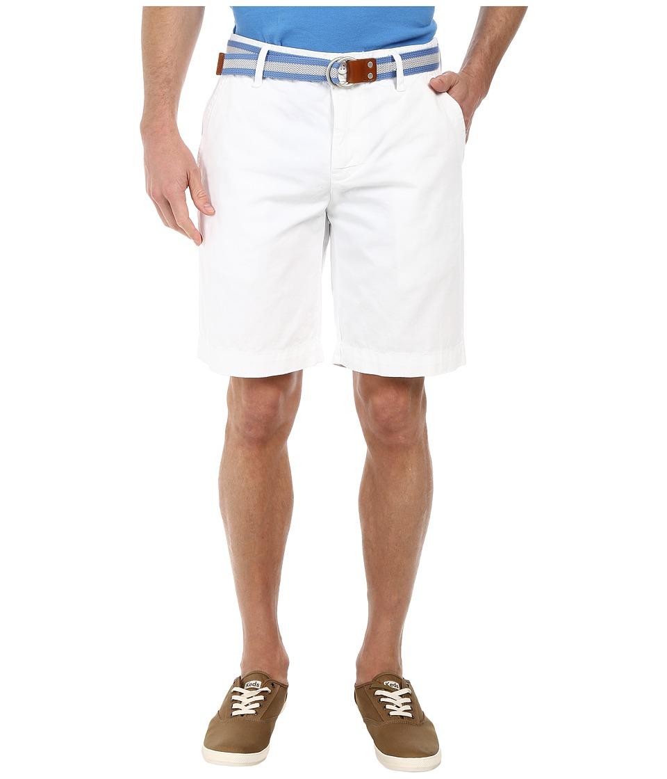U.S. POLO ASSN. - Hartford Twill Short (White) Men's Shorts