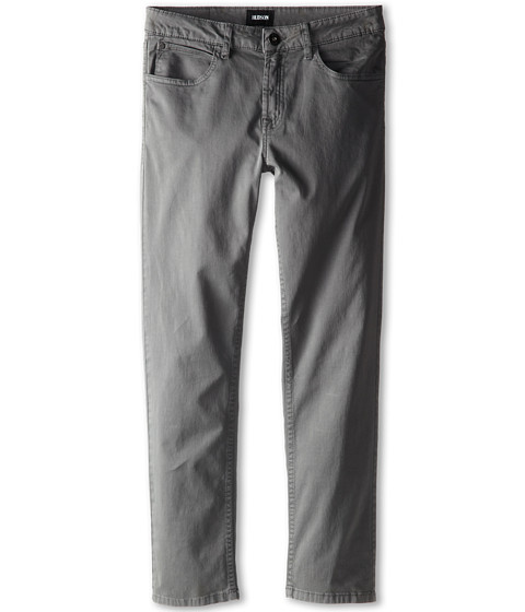 Hudson Kids - ABC Twill Pants in Medium Grey (Big Kids) (Medium Grey) Boy
