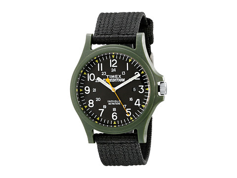 Timex - Expedition Scout Fabric Strap Watch (Green/Black) Watches