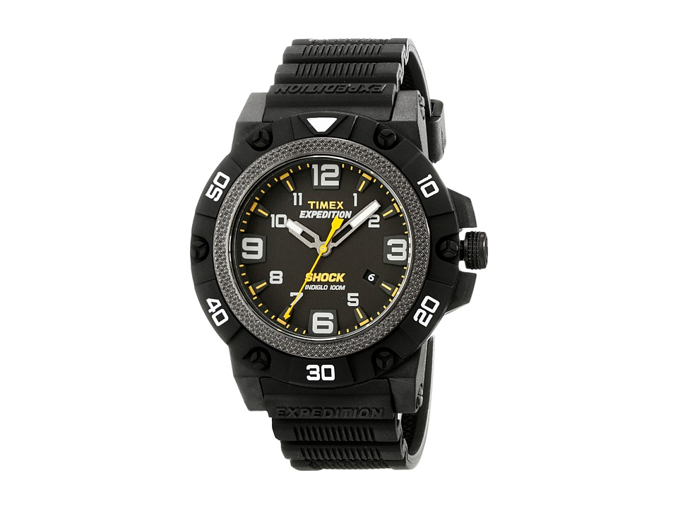 Timex - Expedition Field Shock (Black) Watches