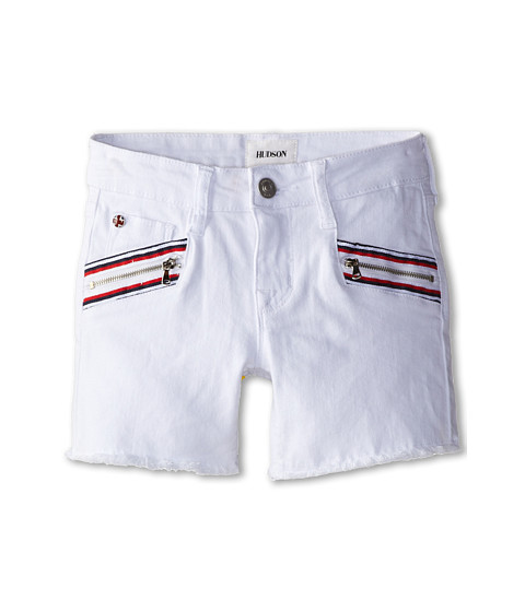 Hudson Kids - Spark Shorts in White (Big Kids) (White) Girl's Shorts