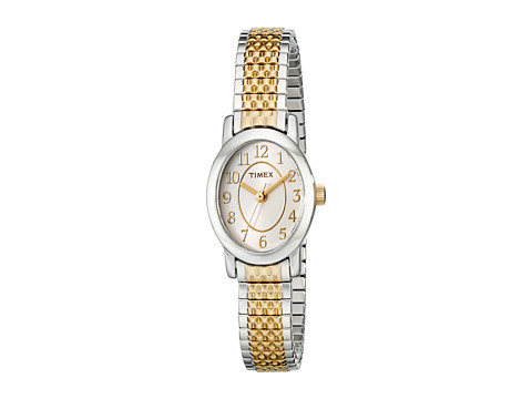 Timex - Cavatina Expansion Band Watch (Two-Tone/Cream) Watches