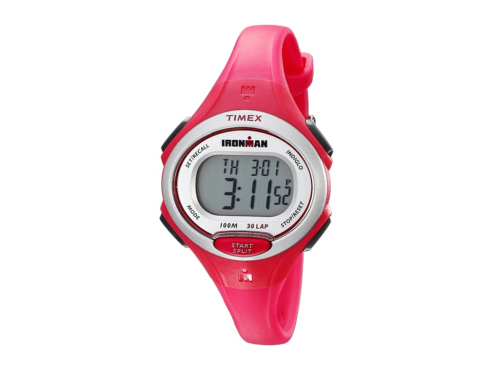 Timex - Ironman Essentials 30 Mid-Size (Pink/Silver-Tone) Watches
