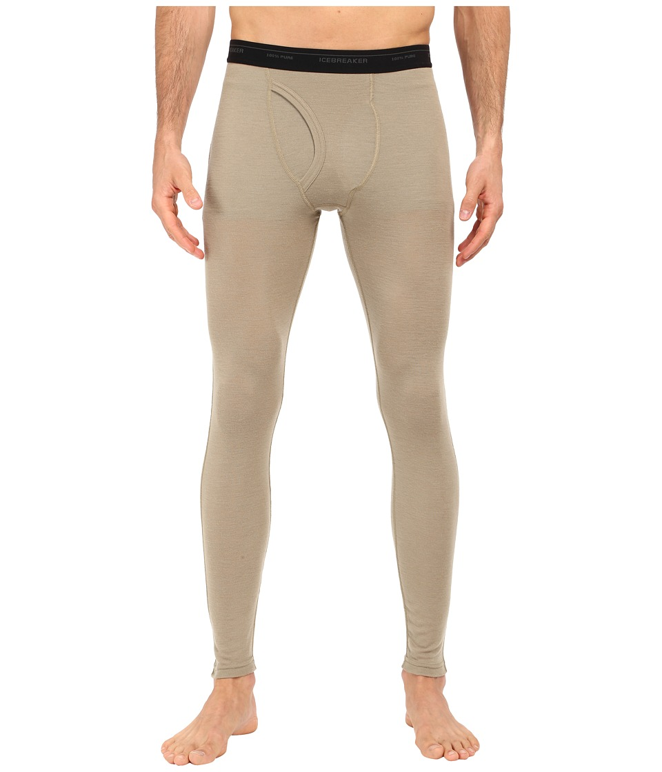 Icebreaker - Everyday Leggings w/ Fly (Desert/Black) Men's Clothing