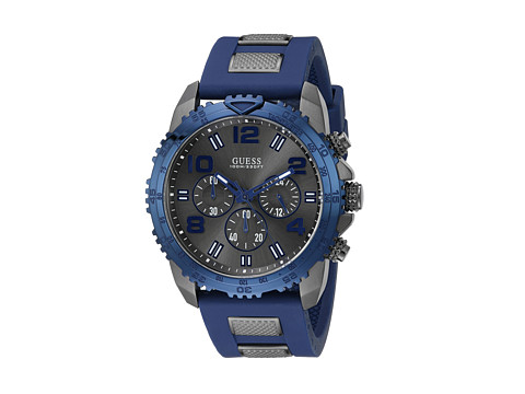 GUESS - U0599G2 Velocity (Blue) Sport Watches